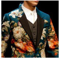 [ Dolce & Gabbana Flowers' Jacket ]