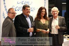 Barilla Ovadia Saadia, Anesio Fassina, Eliane Munhoz e o diretor geral do Festival Italiano no Brasil, Nico Rossini