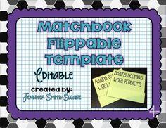 Foldable-Matchbook Flip Booklet   3rd grade   Pinterest   Science ...