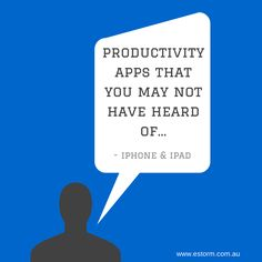 Looking to use your iPhone or iPad in your business? Find out what are the best productivity apps to help boost your time using these devices while at work. #ipad #iphone #productivityapps #ITSupport
