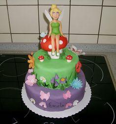 Tinkerbell cake , tinkerbell Torte