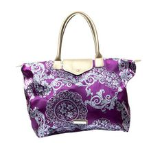 (9) Fab.com | Folding Carry-All Purple by Penny Sue