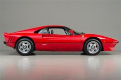 1985 Ferrari 288 GTO - My favorite exotic car in high school. Many a notebook margin was filled up with scribbles of it.