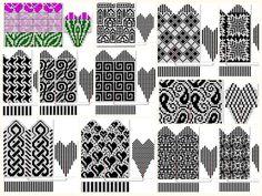 Fair Isle Pattern, Crochet Home, Knitting Socks, Mittens, Knitting Patterns, Mosaic, Home Decor, Crochet House, Knit Socks