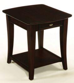 Enclave Rectangular Drawer End Table by La-Z-Boy