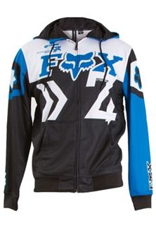 Fox Racing Mens Anthem Zip Front Hoody Fox Clothing Fox Racing Clothing Jackets Men Fashion