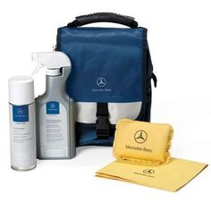 Keep the interior of your Mercedes-Benz looking its best with the specially formulated products in this exclusive Interior Car Care Kit. Includes Cabin Care Spray Glass Cleaner Auto Glass Sponge and...