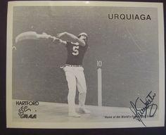 **Autographed URQUIAGA photo** Hartford Jai-Alai signed auto Connecticut Miami | eBay