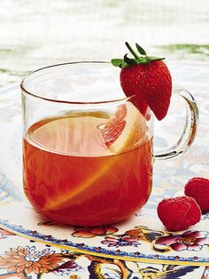 Delicious and refreshing iced tea