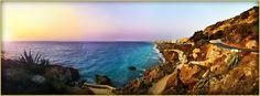Ο πολύχρωμος ουρανός της Ρόδου Amazing Sunsets, Photos Of The Week, Greece Travel, Dusk, Fields, Water, Places, Outdoor, Image