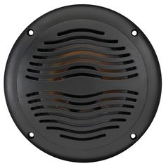 """$34.95 AquaVibe WR65B   Marine Waterproof 6 1/2"""" 2-Way Speaker with Integrated Grill/Frame"""