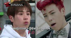 Block B before and after makeup - P. Cute both ways anyway Po Block B, Pyo Jihoon, Korea, Kpop, Makeup, Cute, Make Up, Face Makeup, Kawaii
