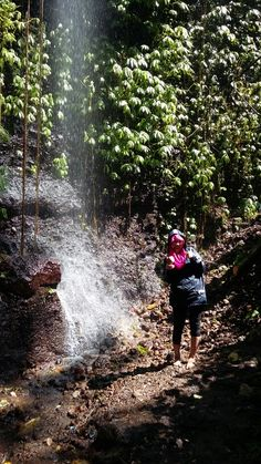 Baung Waterfall - Kawi Mountain , Malang - East Java - Indonesia