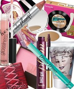 Benefit Make Up products-i-love