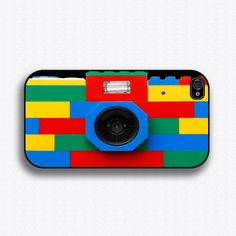 Lego iPhone camera case - and there are lots of other cool iPhone case options that look like cameras! Girly Phone Cases, Cool Iphone Cases, 5s Cases, Tablet Cases, Lego Camera, Camera Case, Reflex Camera, Iphone Camera, Iphone Phone Cases