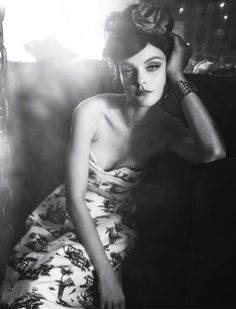 "Jessica Stam in ""Soy Cuba"" by Sofia Sanchez & Mauro Mongiello for Numéro March 2013"