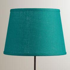 """BURLAP LAMP SHADE - $19.99 - 14""""W x 10""""H"""