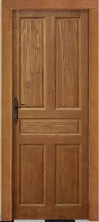 Puertas de madera maciza te idas en color nogal for Precio puertas interior madera maciza