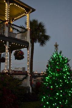 #Holidays | Bayfront Marin House, Saint Augustine, FL. #bedandbreakfast #travel