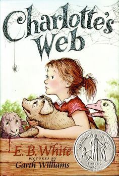Encore -- Charlotte's web / E.B. pictures by Garth Williams ; watercolors of Garth Williams artwork by Rosemary Wells. Charlotte's Web Book, Up Book, This Is A Book, I Love Books, Great Books, Books To Read, Garth Williams, Charlottes Web, A Wrinkle In Time