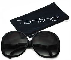 Tantino Big Huge Oversized Square Sunglasses Womens Fashion Black Frame * You can find out more details at the link of the image.Note:It is affiliate link to Amazon.