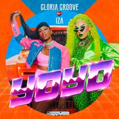 YoYo, a song by Gloria Groove, IZA on Spotify Gloria Groove, Google Play Music, Apple Music, Songs, Artwork, Instagram, Cultural, Drag Queens, Lgbt