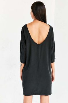 Silence + Noise Washed Mini Sack Dress - Urban Outfitters                                                                                                                                                     More