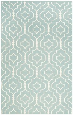 DHU637 Rug: This distinctive piece is both stylish and incredibly soft to the touch with bold rich colors that complement any room.  Flat-woven by hand in India.