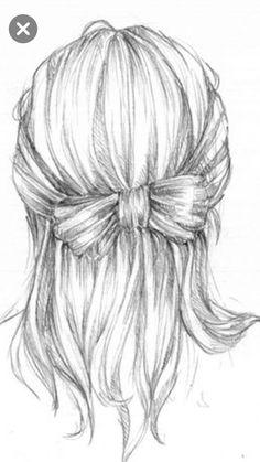 Art, Braid, Calm, delicate, drawing, Feminine, graphite
