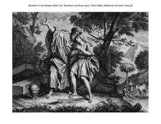 Abraham in the Bowyer Bible 102. Abraham sacrifices Isaac. Dutch Bible. Medhurst-Kossuth-Vere on Flickr.Abraham in the Bowyer Bible 102. Abraham sacrifices Isaac. Dutch Bible. Medhurst-Kossuth-Vere