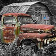 American Ford Pickup Truck Art Print