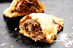 Bridies are Scottish street food, believed to have been originally made by a traveling food seller (1) From: Sweet Water, please visit (2) Saved to, Guthrie Scottish Recipes: https://www.pinterest.com/arfamilies/guthrie-scottish-recipes/