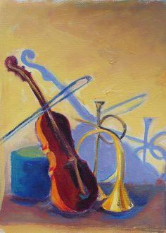 Musical art!! Love the shadows @Brandy Cattoor