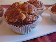 double chocolate chip pumpkin muffins - Inspired by Charm