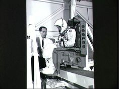 Neil Armstrong Pictures - Astronaut Neil A. Armstrong undergoes weight and balance tests  NASA Johnson Space Center (NASA-JSC)