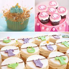 very cute baby shower cupcake ideas