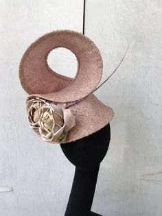 Couture Derby Fascinator Headpiece  Hat by LaHatterieMillinery