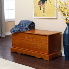 Have to have it. Laurel Cedar Hope Chest - Oak Finish $129.98. I bet Mike can make it for me!