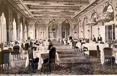 Beautiful historic picture of the Ballroom at the Fairmont San Francisco