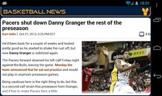 You are Indiana Pacers fan, get all news about your favorite team by:<br>- Configuring automatic update with personalized parameters: Notification, Time slot, Frequency...<br>- Getting instantly notified when a news is released: Sound, Vibrate, LED...<br>- Consulting all news and previews...<br>- Getting news details from different sources: ESPN, CBSSport, Yahoo! Sports.<br>- Sharing with your friend all news about Indiana Pacers.<br>With Indiana Basketball News you will never miss news…
