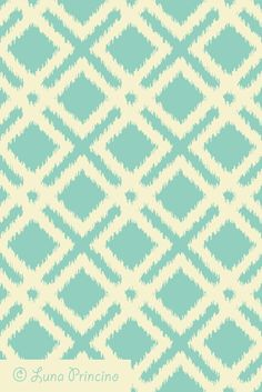 Ikat geometric pattern by Luna Princino. Seamless vector texture is available on Shutterstock. #graphic #design #seamless #pattern #vector #texture #abstract #fashion #beautiful #background #backdrop #wallpaper #geometric #geometry #graphics #lines #trendy #creative #for #decor #decorative #decoration #diamond #rhombus #vintage #colors #structure #teal #turquoise #and #cream #beige #ikat #popular #ornament #ornate #for #cards #wedding #invitations #textile #ivory #fabric #carpet #squares…