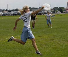 Erynn Schroeder, CSB '15, joined Team USA at the World Junior Ultimate Frisbee Tournament in August 2012.