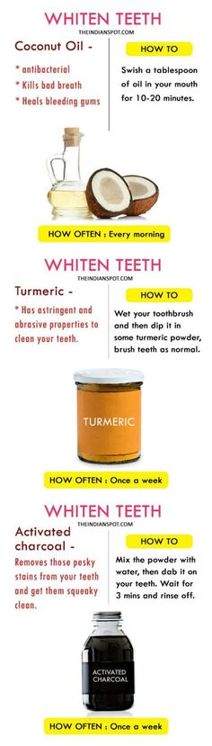 Whiten your teeth the natural way!
