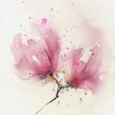 "Original watercolour painting ""Magnolia"""