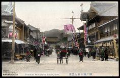 Daikokuza front Nanko Temple, Kobe