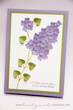 Muttertag – oder – flieder Flieder - lovelymade