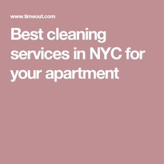 The best apartment cleaning services in NYC | Cleaning service ...