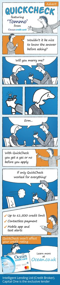 QuickCheck With Ocean Credit Card And Tommo!