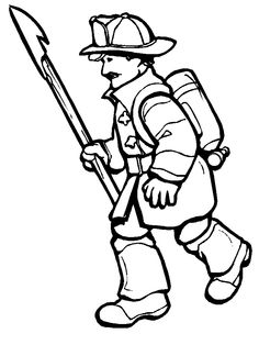 11 printable firefighter coloring pages - Print Color Craft | 314x236