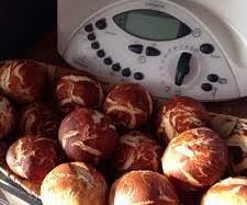 Rezept Laugenbrötchen ratz fatz von MöniZitröni - Rezept der Kategorie Brot & Brötchen